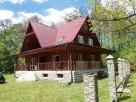 Dom drewniany z bali Kaczórki obok Zamościa - 3
