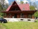 Dom drewniany z bali Kaczórki obok Zamościa - 1