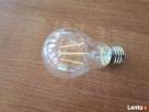 Żarówka LED E27 filament 6W biała ciepła