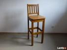 hoker barowy wysoki stołek barowy drewniany krzesło barowe