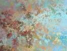 ABSTRAKCJA obraz na w 100% bawełnianym płótnie 100x75cm - 1