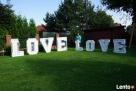 Napis Love 3D foto budka ciężki dym czerwony dywan - 2