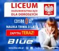 Liceum dla Dorosłych za darmo tylko w BLUE EDUCATION!