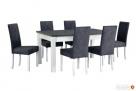 Nowoczesny stół z krzesłami- sellmeble