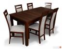 tani stół z krzesłami-orzech,wenge lub sonoma- sellmeble