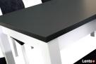 Nowoczesny stół z krzesłami- sellmeble - 2