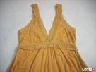 H&M sukienka długa Haft Koronka 42 44 Nowa - 2