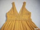 H&M sukienka długa Haft Koronka 42 44 Nowa - 8