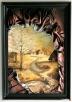 Obraz ze skóry, malowany ręcznie, nowoczesny, na prezent - 3