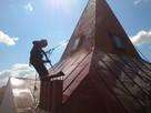 Malowanie dachów, prace na wysokości, montaż reklam, mycie - 2