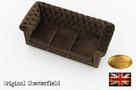 Cherstrefield sofa 3 os Fluweel - 5