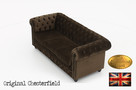 Cherstrefield sofa 3 os Fluweel - 6