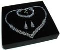 Biżuteria Ślubna Swarovski - piękny komplet - 6