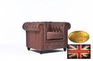 Chestrefield sofa skorzana Braz Vintage - 4