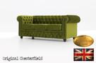 Chesterfeield sofa 3 os Brighton Fluweel z zamszu - 2
