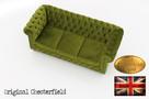 Chesterfeield sofa 3 os Brighton Fluweel z zamszu - 5