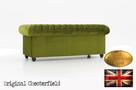 Chesterfeield sofa 3 os Brighton Fluweel z zamszu - 3