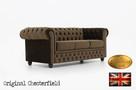 Cherstrefield sofa 3 os Fluweel - 3