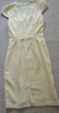 Sukienka z krótkim rękawem  écru  S   H&M - 7