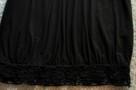 Czarna sukienka z koronką  38  ZERO - 5