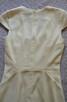 Sukienka z krótkim rękawem  écru  S   H&M - 8