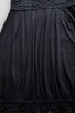 Czarna sukienka z koronką  38  ZERO - 4
