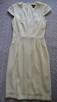 Sukienka z krótkim rękawem  écru  S   H&M - 1