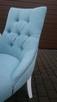 Krzesło krzesła pikowane chesterfield hampton producent