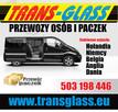 TRANSPORT OSÓB I PACZEK>NIEMCY/HOLANDIA/BELGIA/ANGLIA