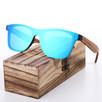 Okulary Przeciwsłoneczne z Polaryzacją Bambus - Prezent