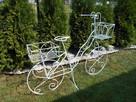 Rower kwietnik ozdoba do ogrodu na taras na balkon - 1