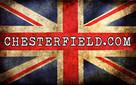 Chesterfield sofa 3 os z zamszu mix - 8