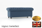 Chesterfield sofa Brighton Pitch z materialu - 3