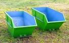 Kontener, kontenery na gruz śmieci/Wywóz gruzu, odpadów, śmi - 3