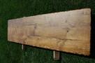 Blaty ze starego drewna Stare deski Loft Stół Industrialny - 5