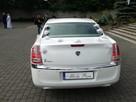 Piękna Lancia Thema o kolorze białej perły do.ślubu w Łodzi - 6