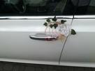 Piękna Lancia Thema o kolorze białej perły do.ślubu w Łodzi - 8