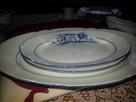 Srodek stolu zastawy obiadowej Cmielow - 3