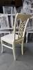 Piękne krzesło tapicerowane modne klasyczne Producent nowe - 3