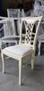 Piękne krzesło tapicerowane modne klasyczne Producent nowe - 2