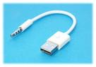 Adapter iPod jack 3,5mm USB Ładowanie ipod Shuffle 3 4 5 6
