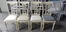 Piękne krzesło tapicerowane modne klasyczne Producent nowe - 1