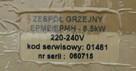 Kospel zespół grzejny epme / epme 8,5 kW 01481
