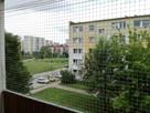 Montaż Siatki na Balkonie przeciw Gołębiom i dla Kota - 6