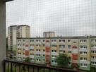 Montaż siatki na balkon przed ptakami i dla kota