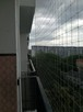 Montaż Siatki na Balkonie przeciw Gołębiom i dla Kota - 8