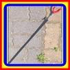 JB Metalowe Podpórka pod Wędkę (Podpórki / Podpórek) 55/95cm - 2