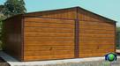 Garaże Blaszane 6x5 Złoty Dąb Blaszaki Drewnopodobne Garaż - 1