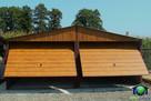 Garaże Blaszane 6x5 Złoty Dąb Blaszaki Drewnopodobne Garaż - 5