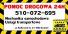POMOC DROGOWA 24H/7 laweta Kraków autostrada A4 holowanie - 1